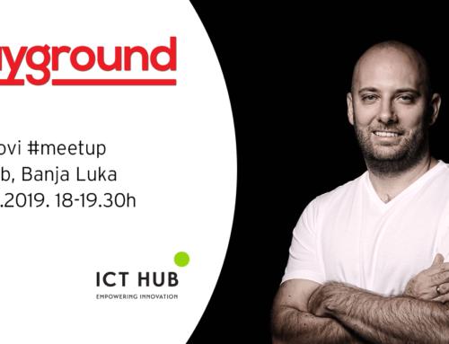Playground #meetup – Veče sa Tomislavom Mihajlovićem, CMO Nordeus