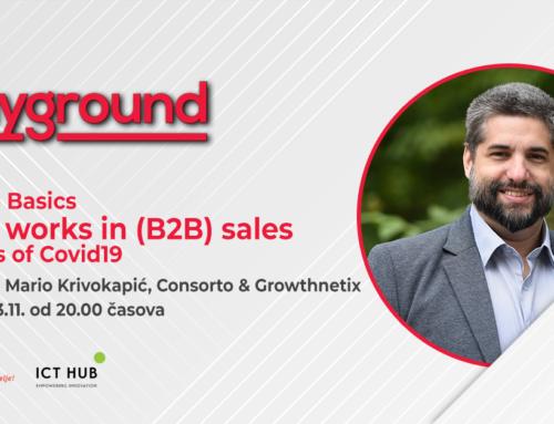 m:tel Playground Meetup: Povratak na osnove: Šta radi u B2B prodaji u doba Covid19 (besplatno učešće)