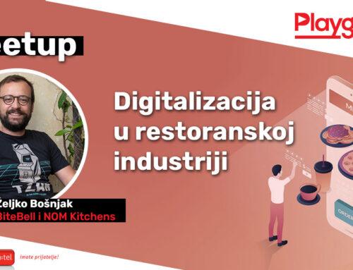 Sve o digitalizaciji za restoransku industriju